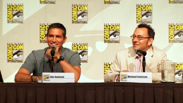 Person of Interest's Jim Caviezel and Michael Emerson