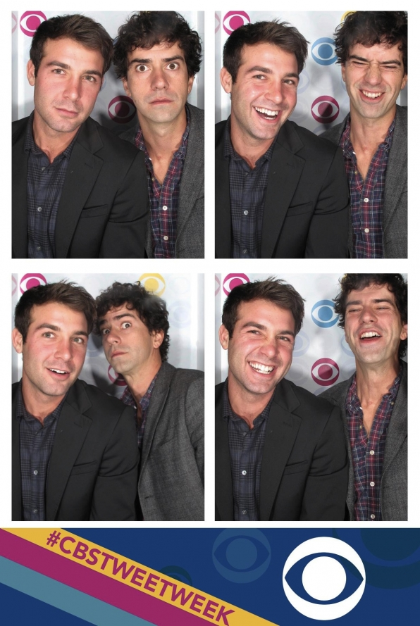 The Crazy Ones' James Wolk and Hamish Linklater