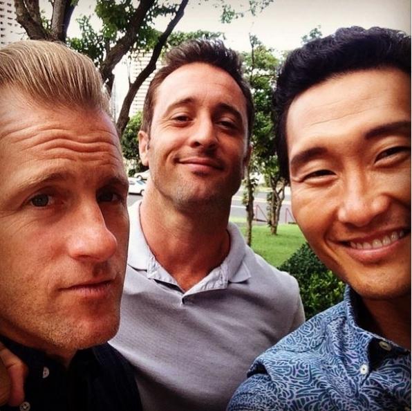 3. Hawaii Five-0 - Scott Caan, Alex O'Loughlin and Daniel Dae Kim