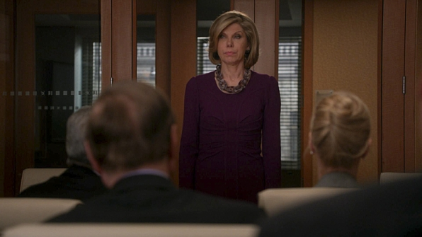 The Good Wife.  Which other Reckless star has something in common with Christine Baranski?