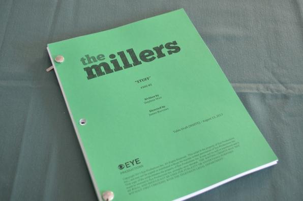 The script- The Millers- Thursdays 8:30/7:30c