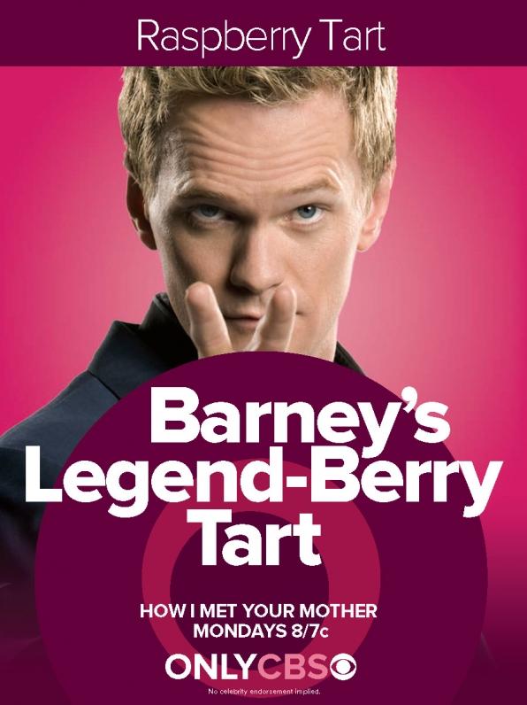 Barney's Legend-Berry Tart