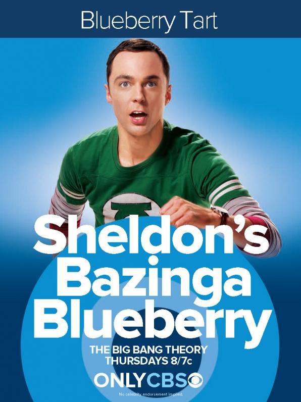 Sheldon's Bazinga Blueberry
