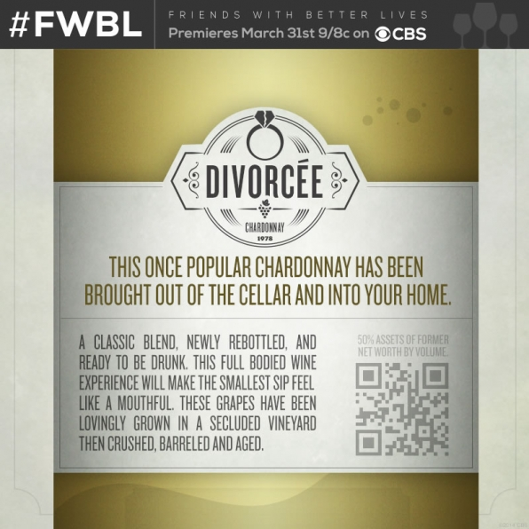 Divorcée Chardonnay- Back