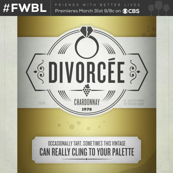 Divorcée Chardonnay- Front