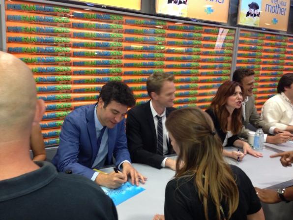 Josh Radnor, Neil Patrick Harris, and Alyson Hannigan
