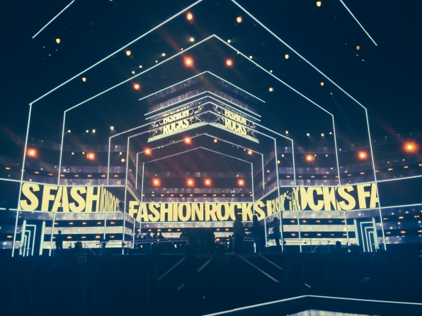 Behind The Scenes for Fashion Rocks