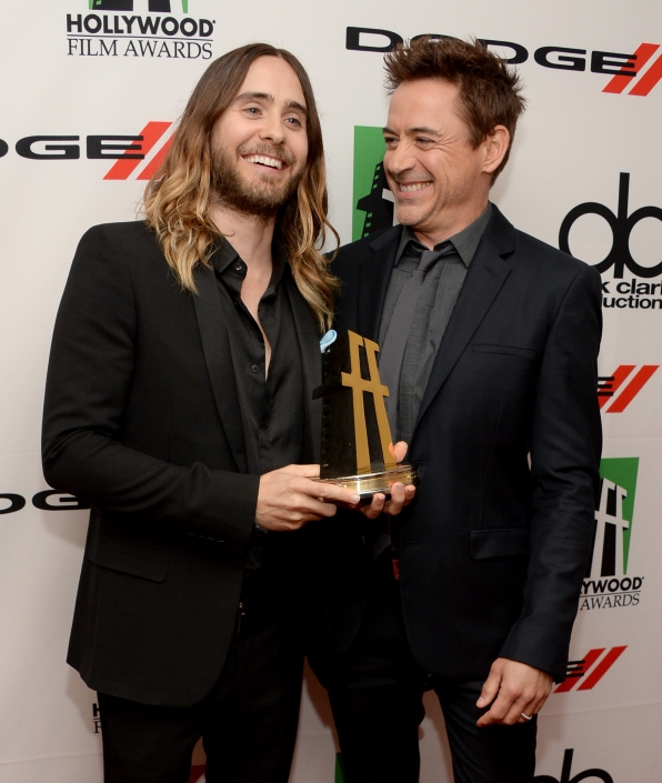 8. Jared Leto and Robert Downey Jr.