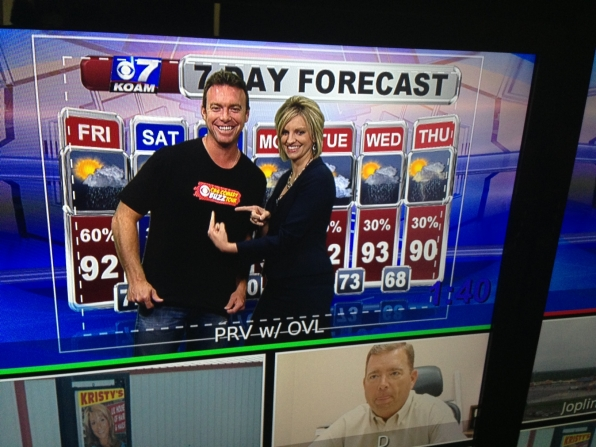 Doing The Weather!