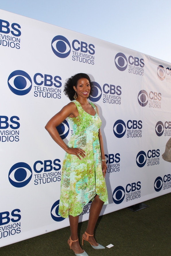 Kim Wayans on the CBS Summer Soiree Red Carpet