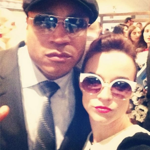 2. LL Cool J and Renee Felice Smith - NCIS: Los Angeles