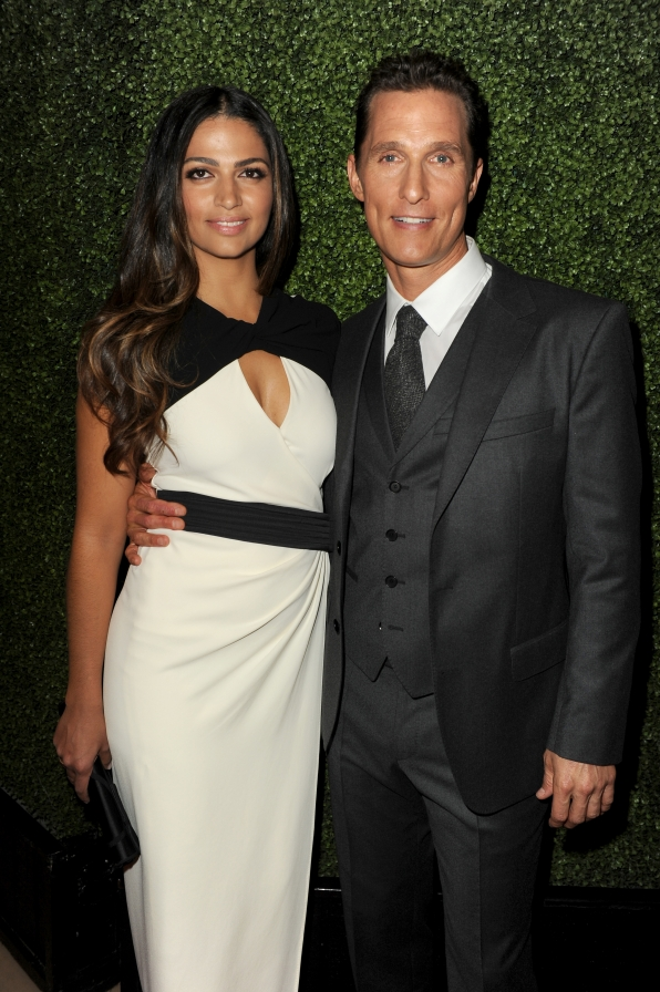 2. Matthew McConaughey and Camila Alves