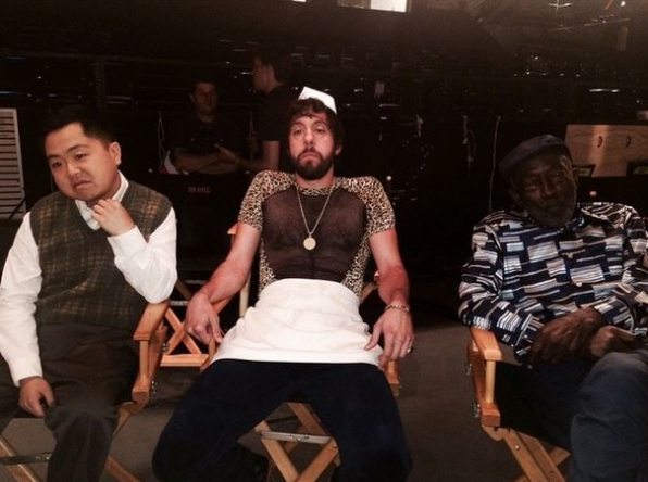 29. 2 Broke Girls - Matthew Moy, Jonathan Kite and Garrett Morris