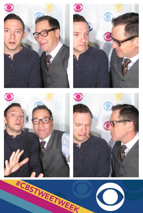 Mom's Nate Corddry and French Stewart