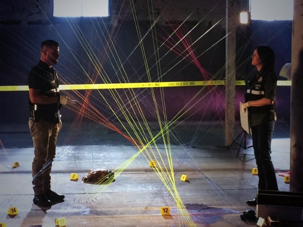 42. CSI - George Eads & Jorja Fox