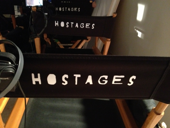 Hostages set chairs