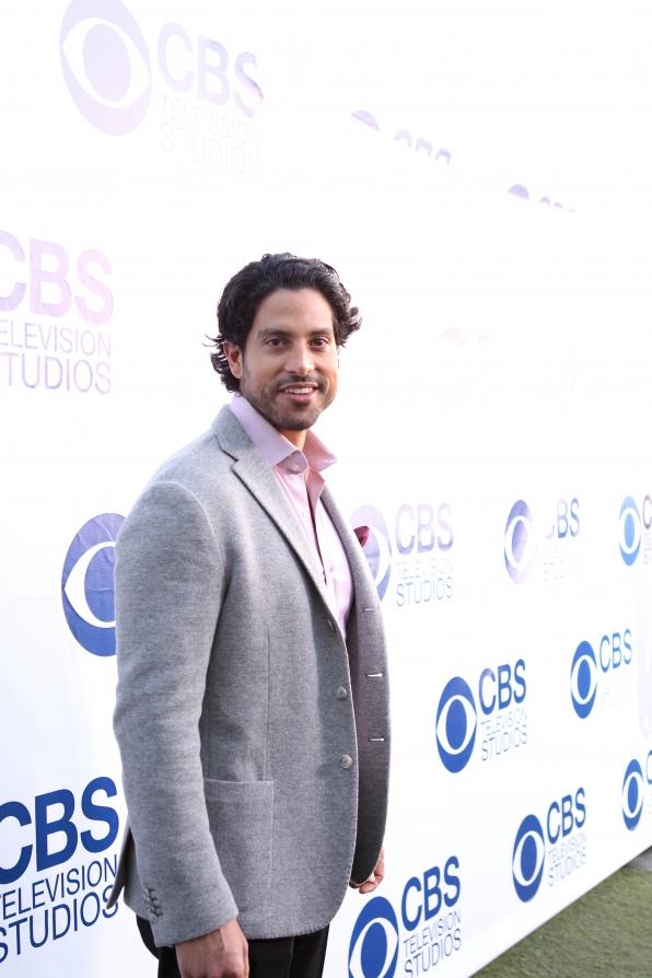 Adam Rodriguez on the CBS Summer Soiree Red Carpet