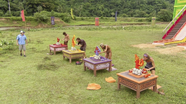 "Immunity Challenge Competition in the Season 26 Finale ""Last Push"""