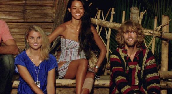 "Andrea, Brenda and Erik in the Season 26 Finale ""Last Push"""