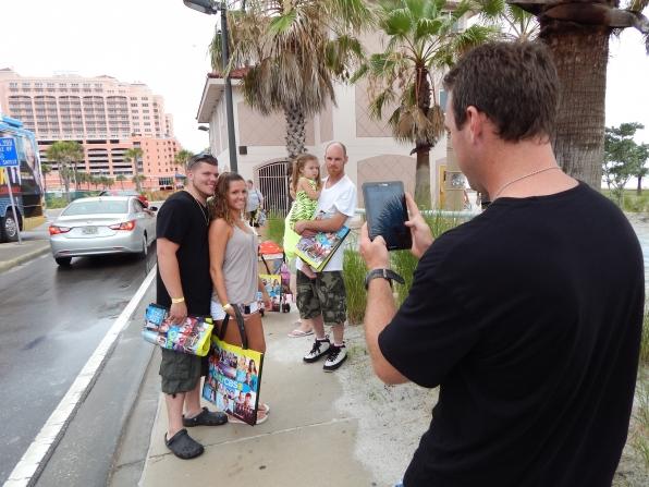 CBS Comedy Buzz Tour bags!