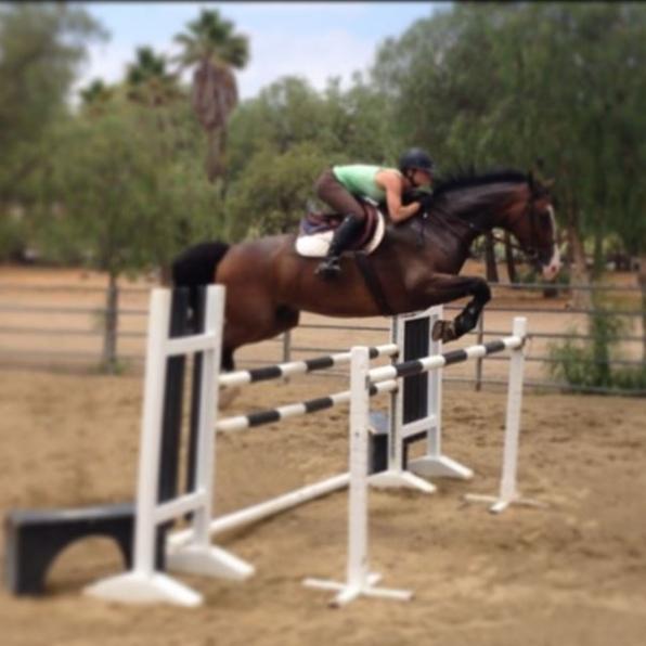 9. Kaley Cuoco-Sweeting - Horseback Riding - The Big Bang Theory
