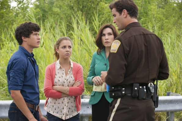 Officer Robb, Grace, Alicia and Zach