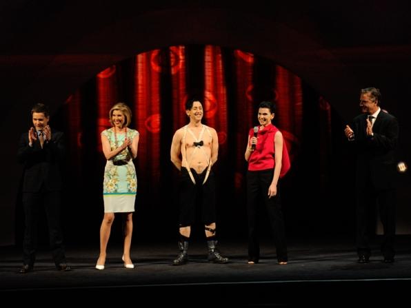 A Round Of Applause - 2014 CBS Upfront Presentation
