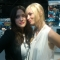 Kat Dennings and Beth Behrs at Comic-Con 2011