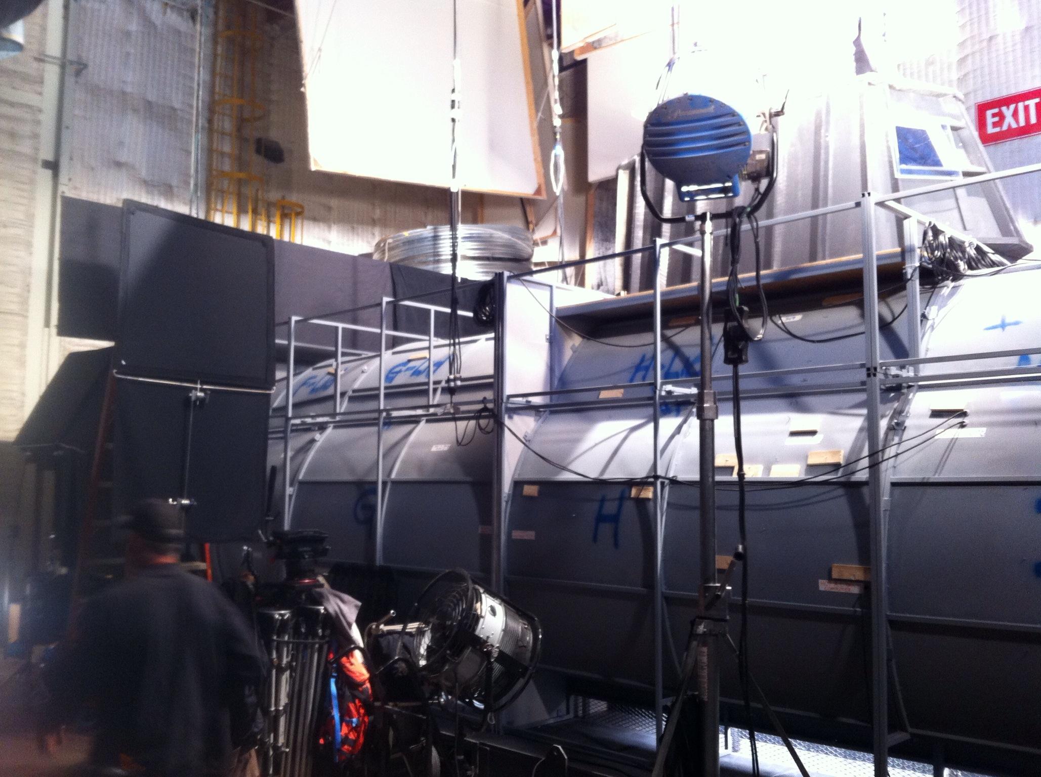 Season 6 Premiere Behind The Scenes - CBS SYNC