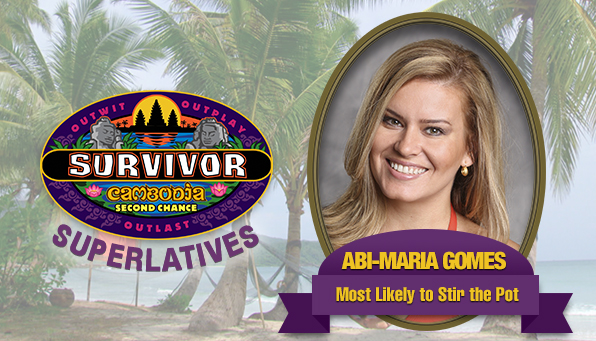 Abi-Maria Gomes - Most Likely to Stir the Pot
