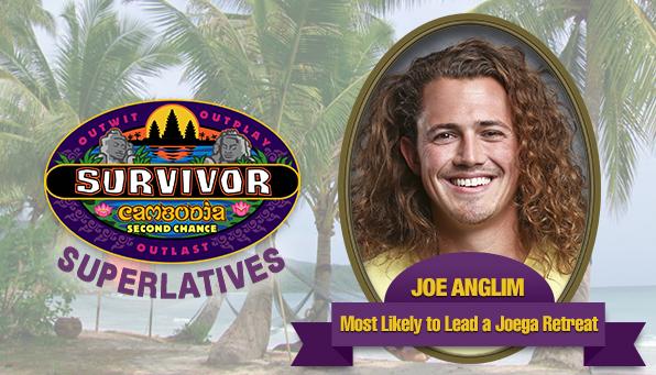 Joe Anglim - Most Likely to Lead a Joega Retreat