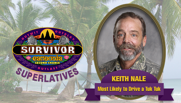 Keith Nale - Most Likely to Drive a Tuk Tuk