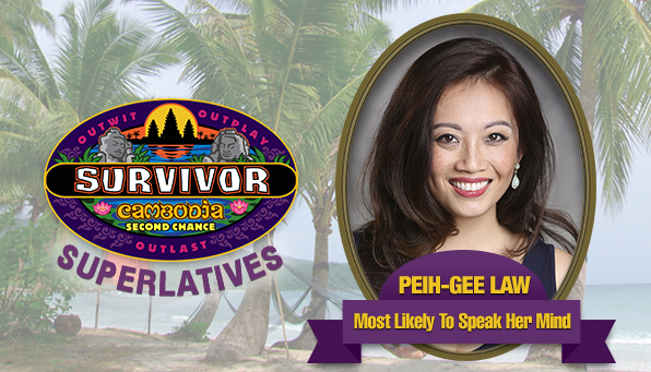 Peih-Gee Law - Most Likely To Speak Her Mind