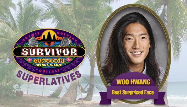 Woo Hwang - Best Surprised Face