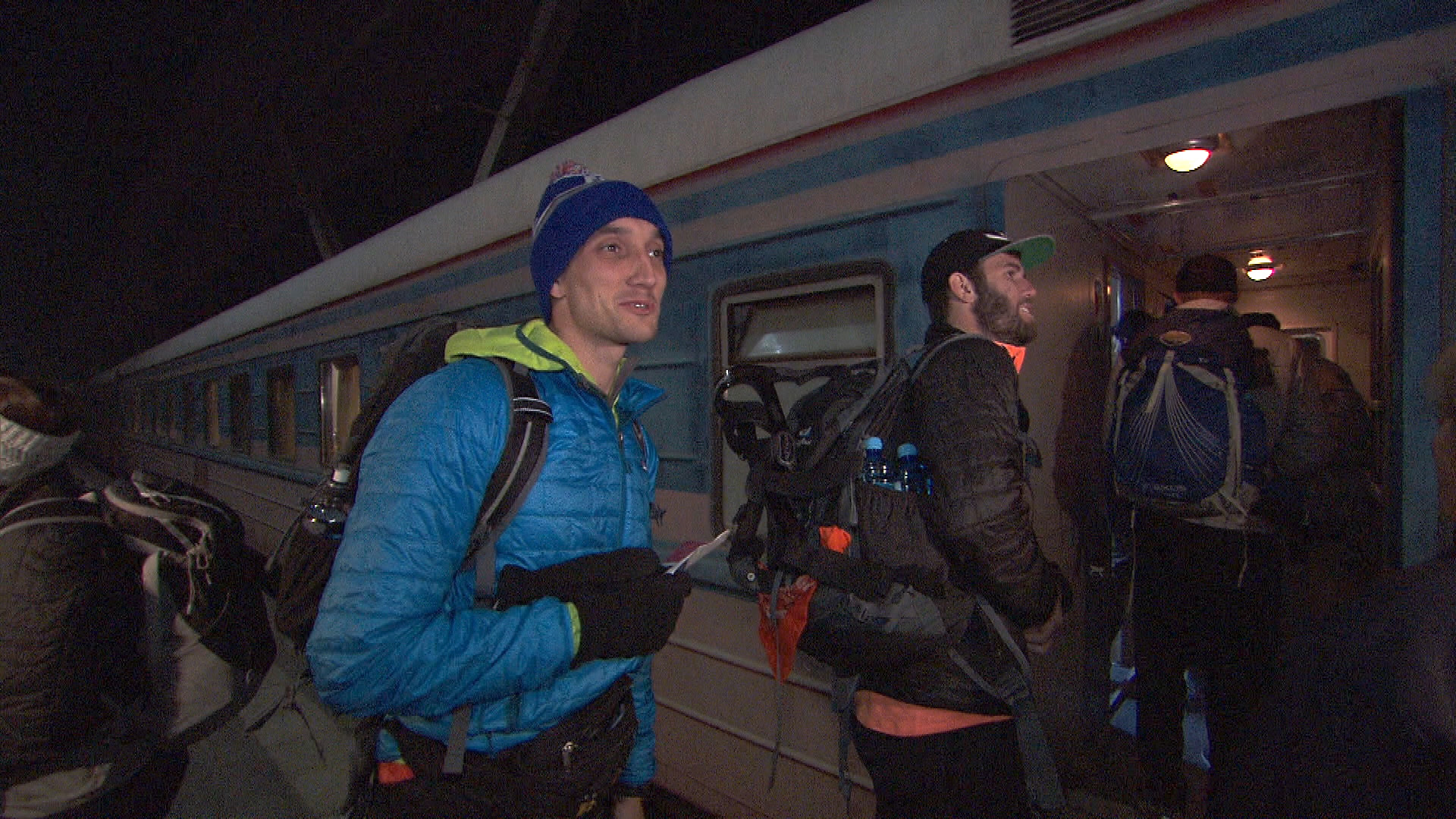Kurt and Brodie must travel by train from Armenia to Georgia at the start of the seventh leg.