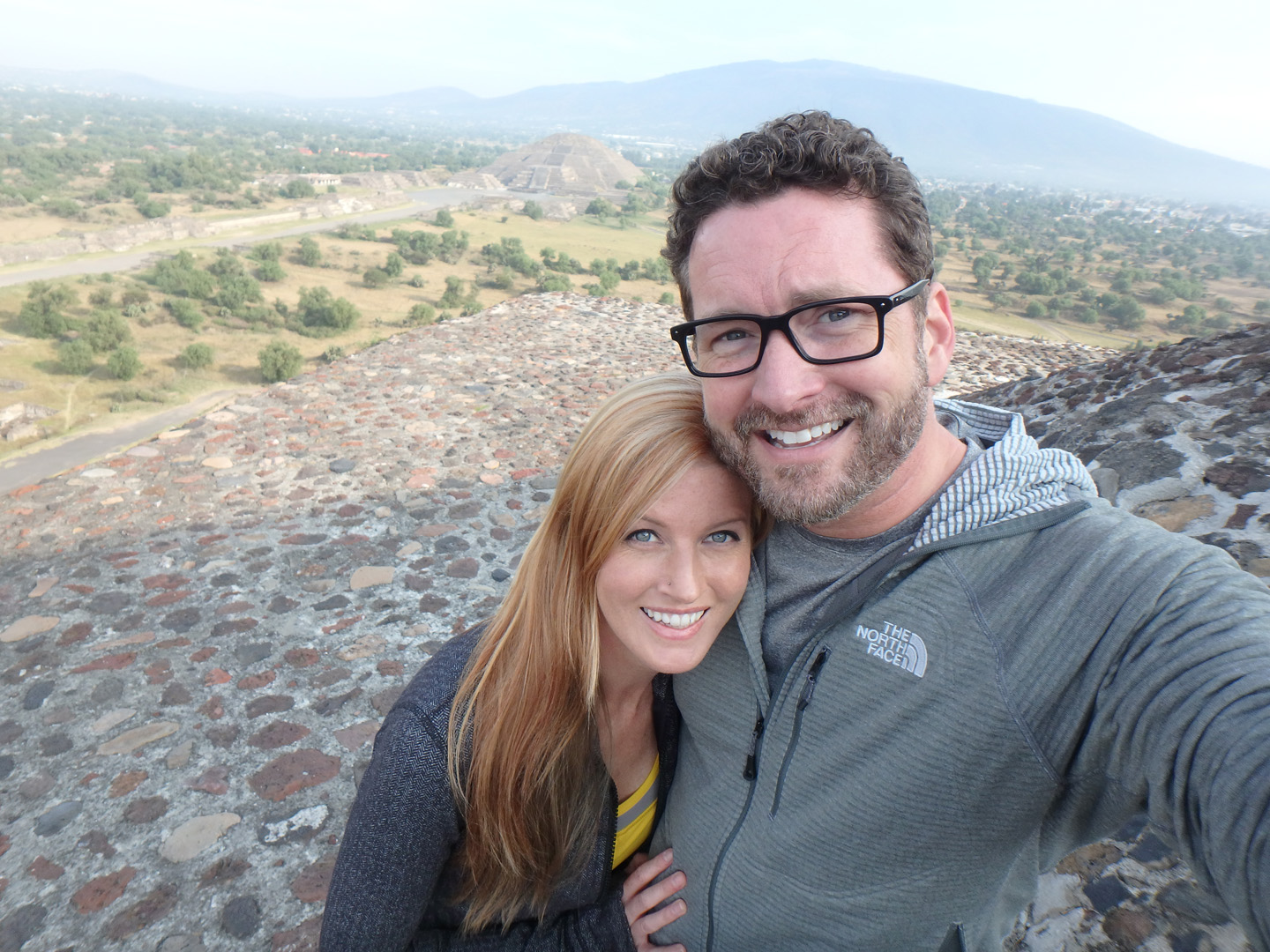 Ashley and Burnie were just the cutest couple in this snapshot from Mexico.