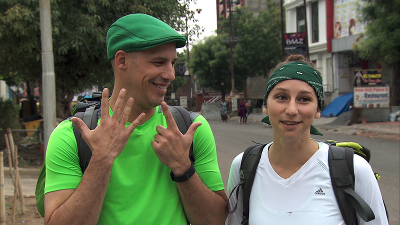 Justin and Diana of #TheGreenTeam are tough to beat.