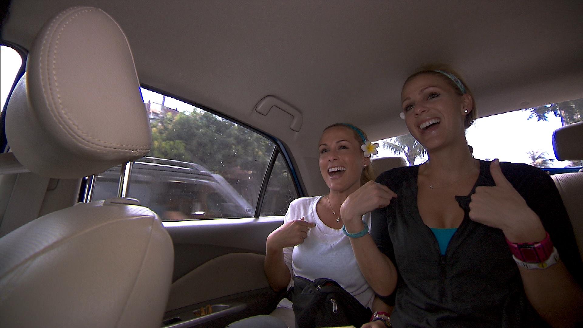 Caroline and Jennifer in