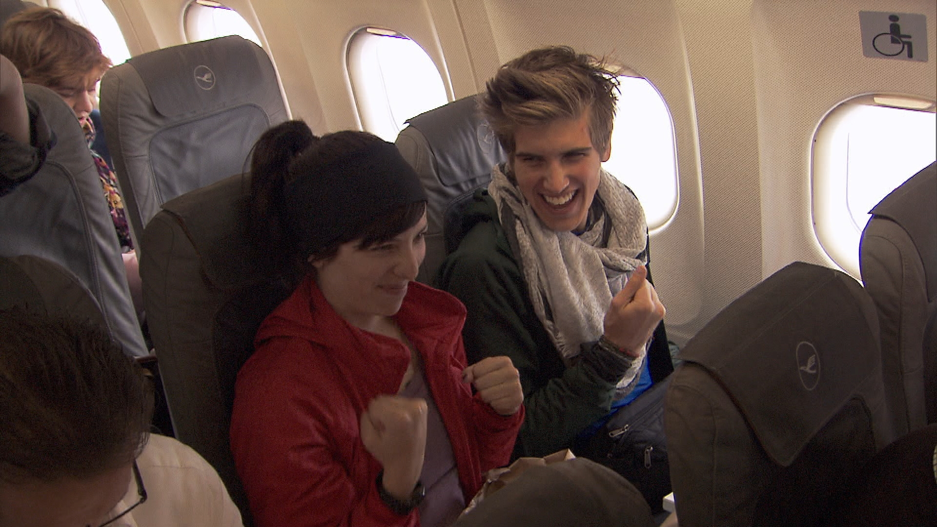 Meghan and Joey in