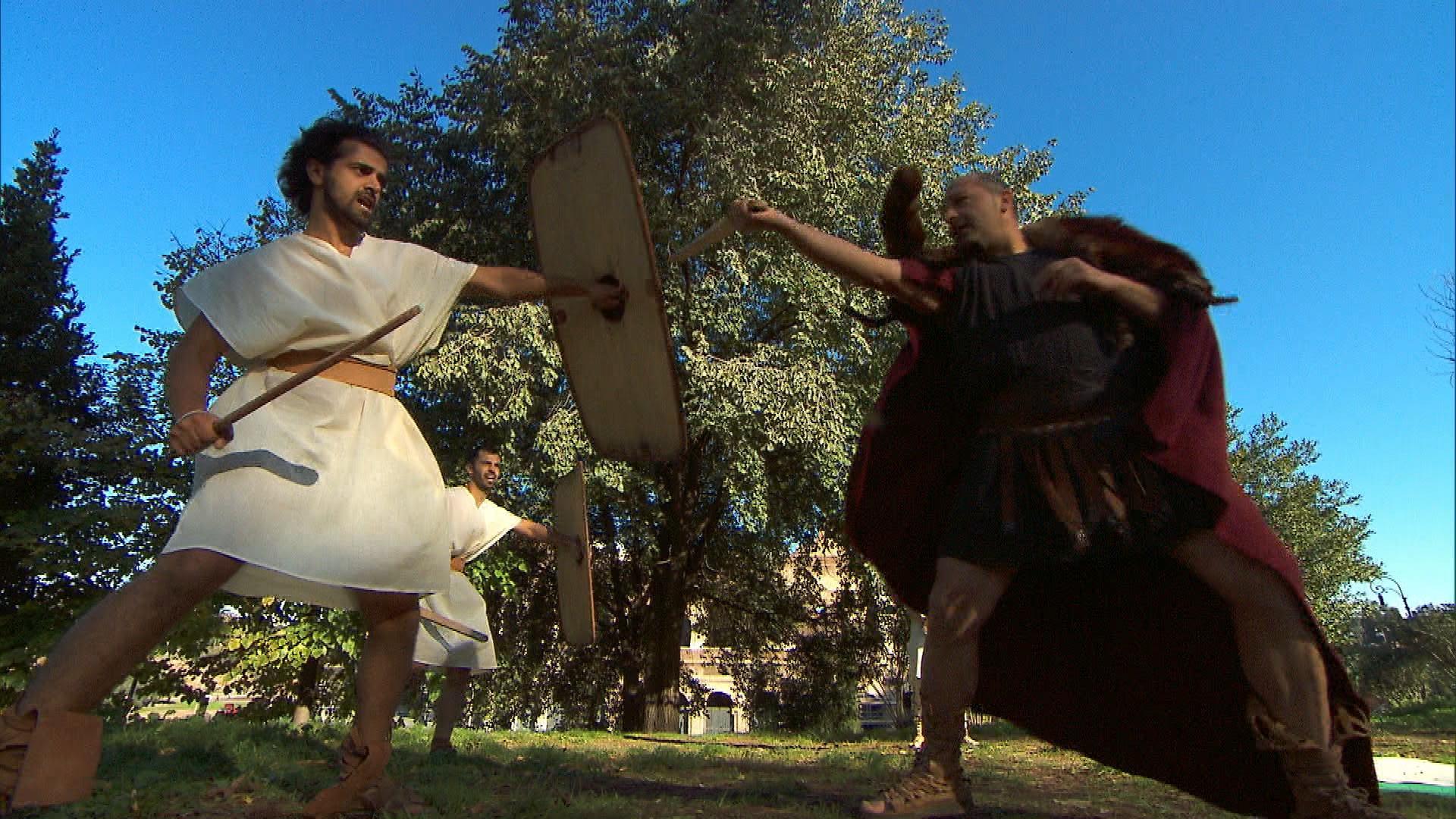 Jamal and Leo in Season 24 Episode 7