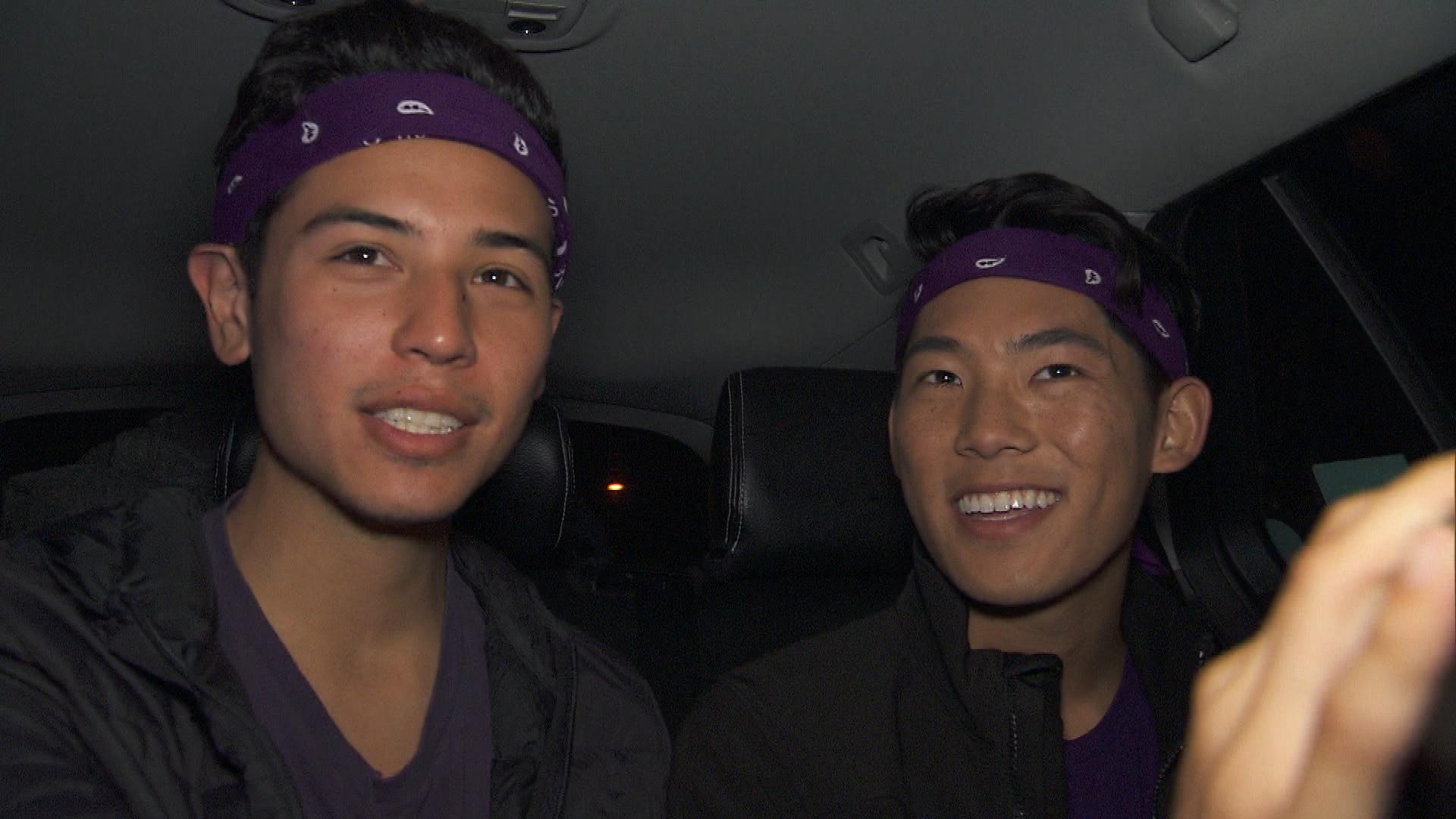 Te Jay and Tim