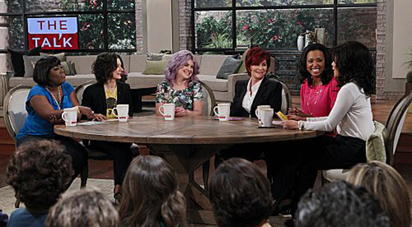 Kelly Osbourne with the Ladies