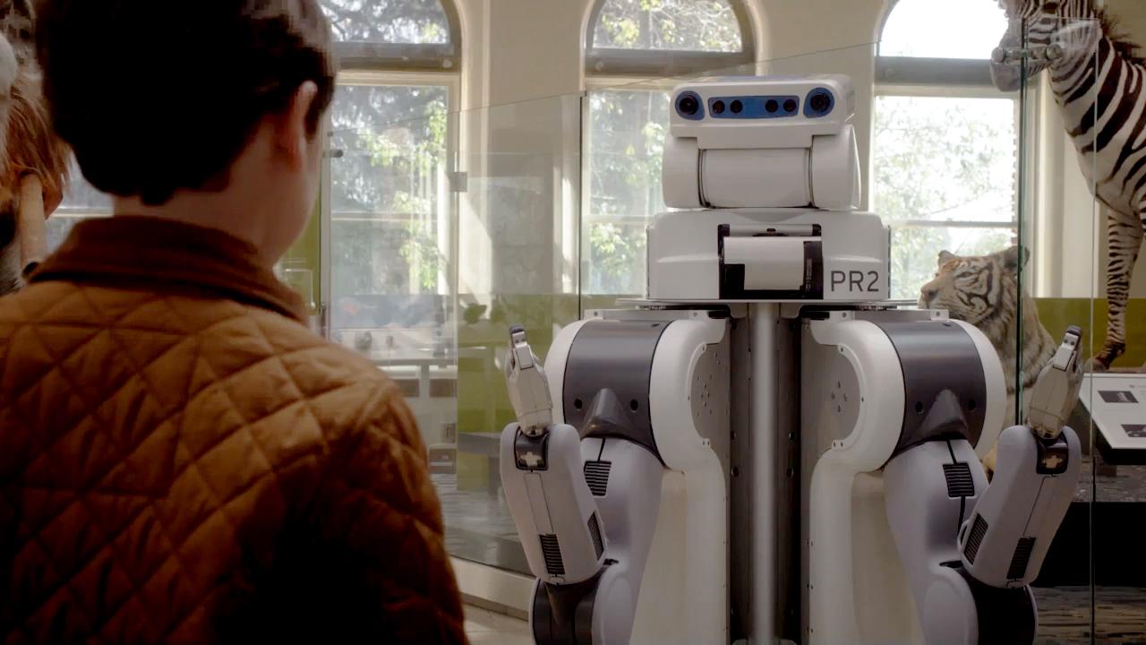 10. Robotic Museum Curators