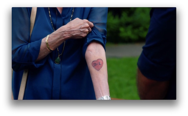 6. The idea for Aunt Deb's tattoo, which appeared on her bucket list, came from actress Carol Burnett.