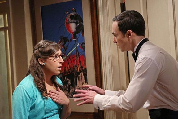 "1. Sheldon says, ""I love you,"" to Amy."