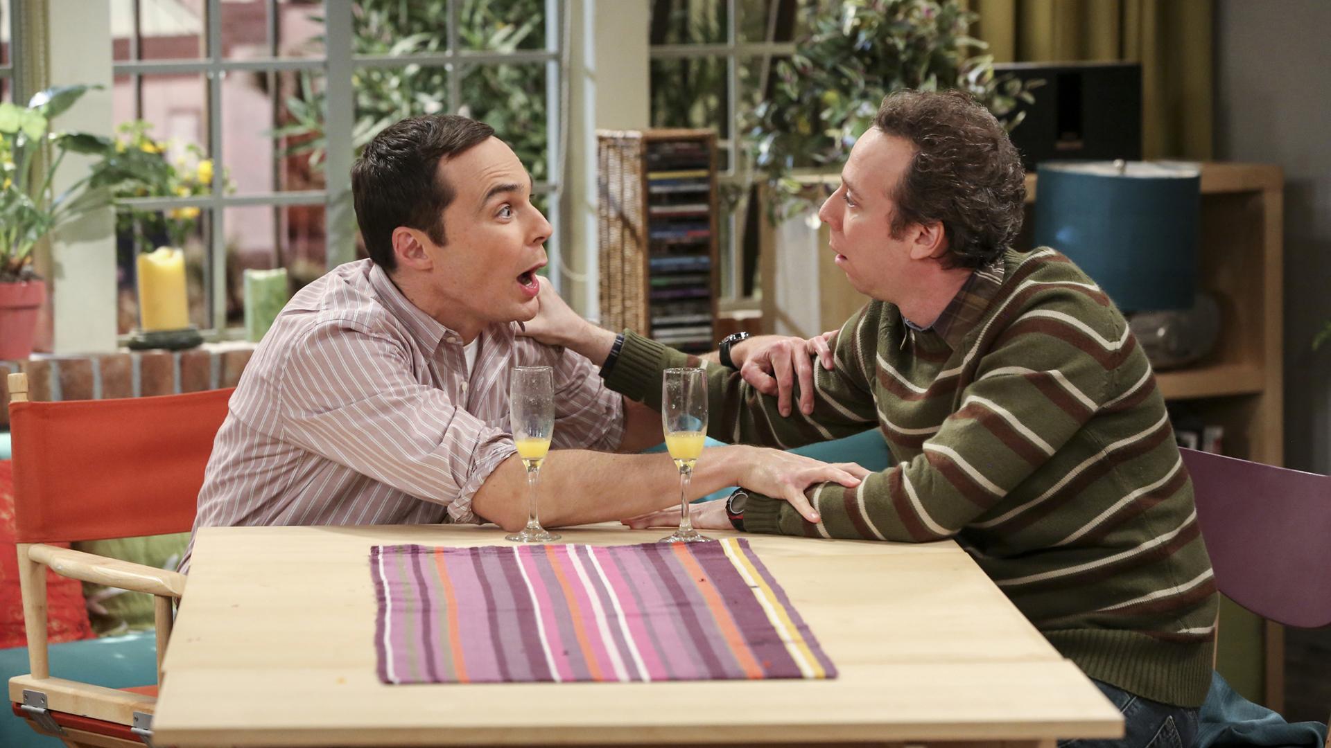 Sheldon and Stuart may've had one too many mimosas.