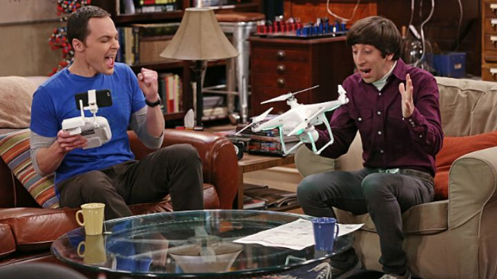 You've started to dress like Sheldon.