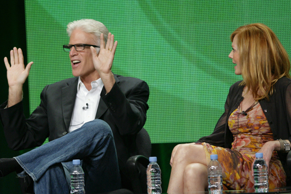 CSI Panel at 2011 Summer TCAs Featuring Ted Danson and Marg Helgenberger