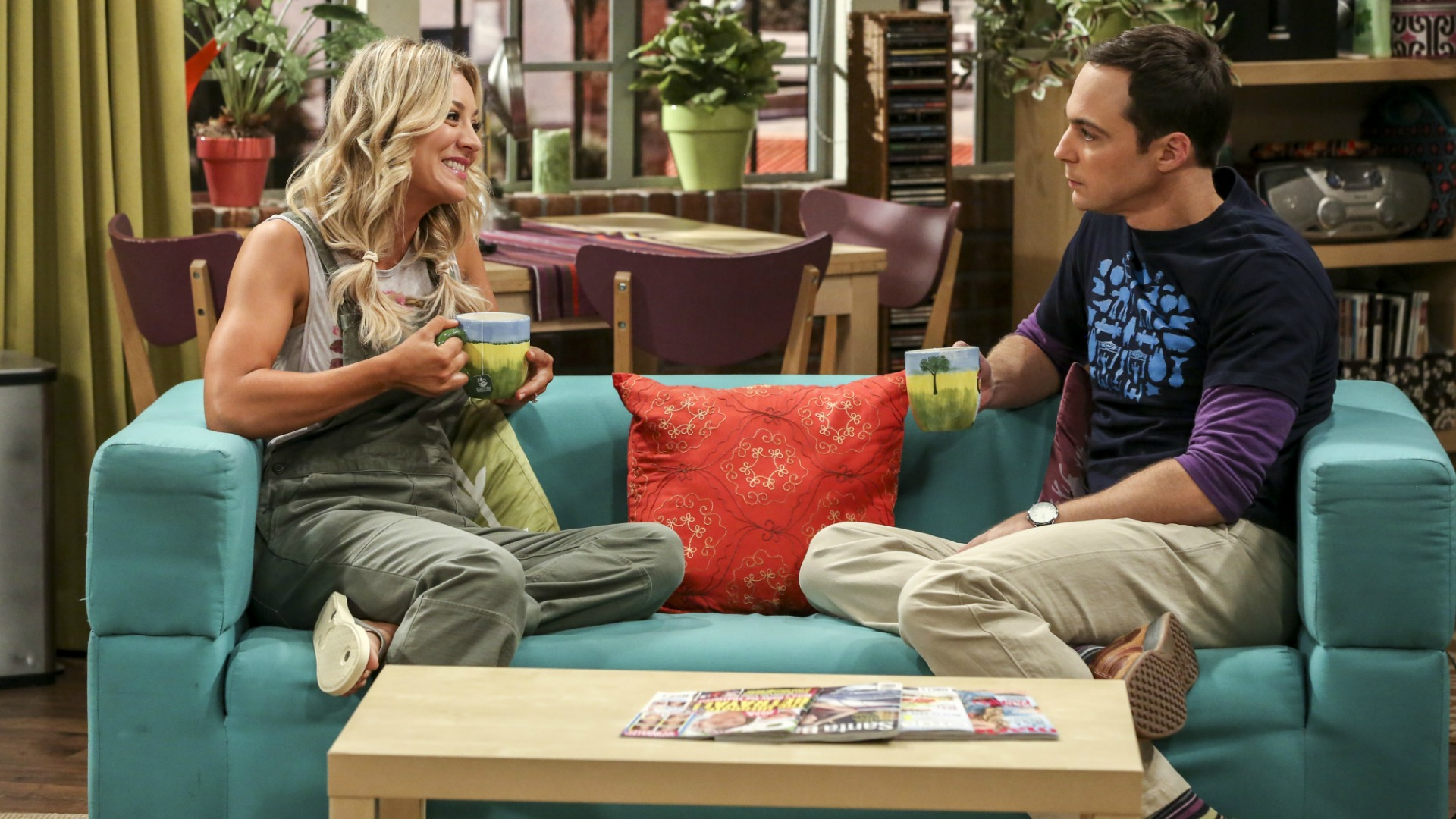 Sheldon uses Penny as a sounding board.