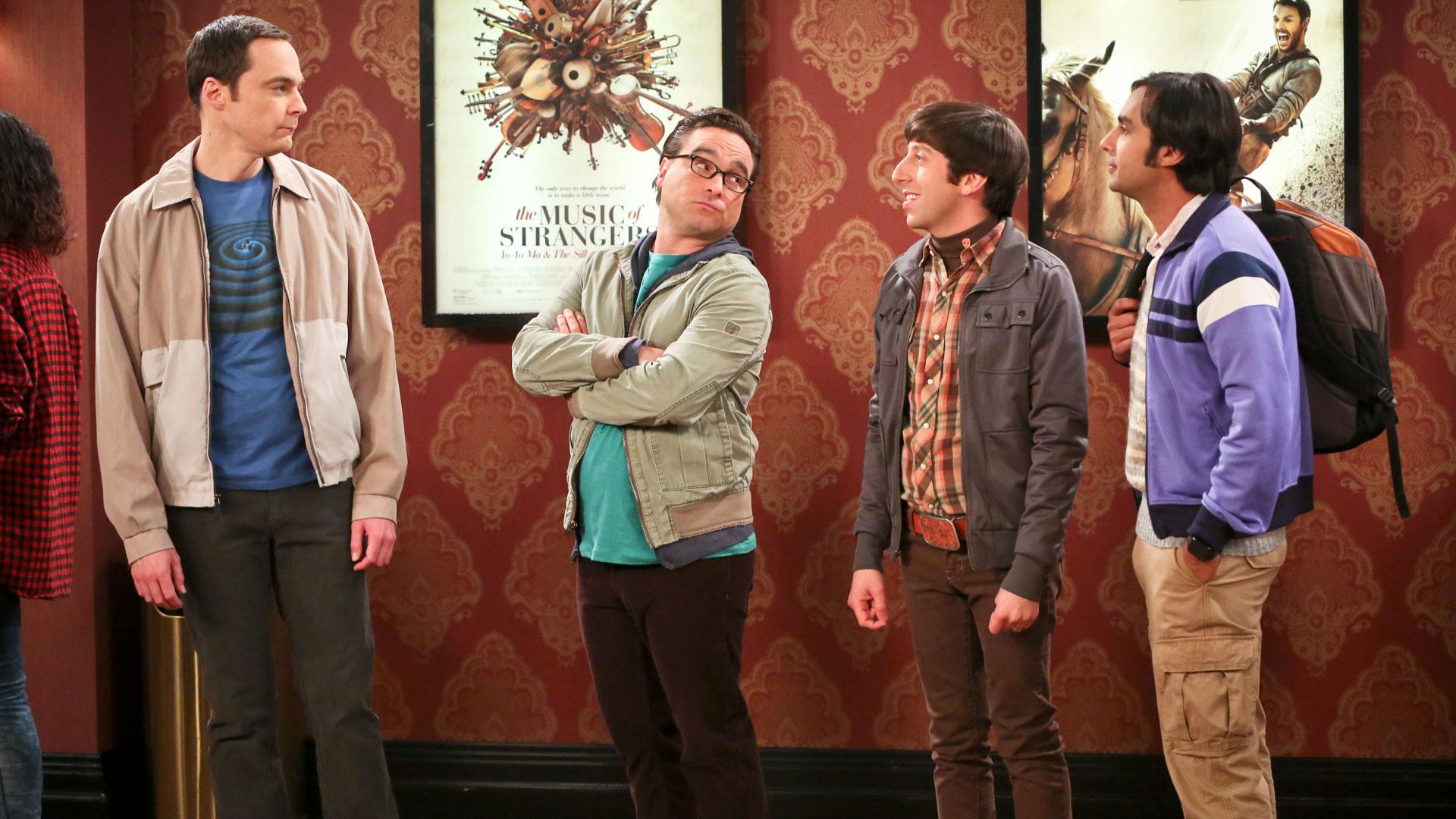 The Big Bang Theory will bring all the awkward.